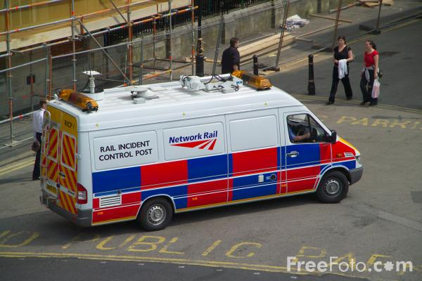 Picture of Network Rail Rail Incident Control Post - Free Pictures - FreeFoto.com