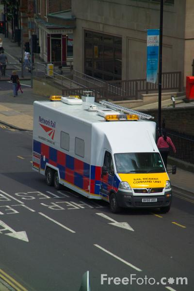 Picture of Network Rail Rail Incident Command Unit - Free Pictures - FreeFoto.com
