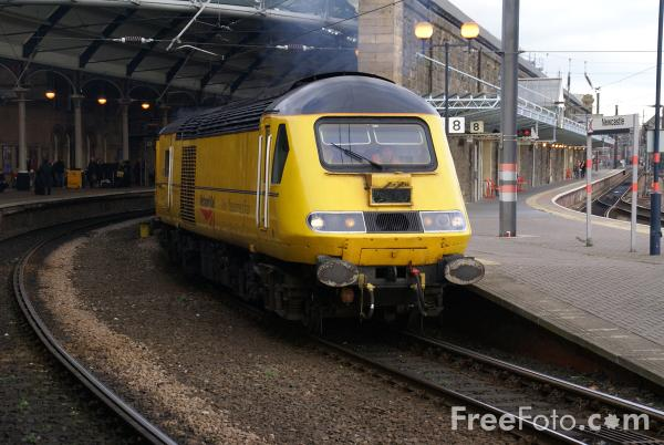 Picture of Network Rail New Measurement Train - Free Pictures - FreeFoto.com