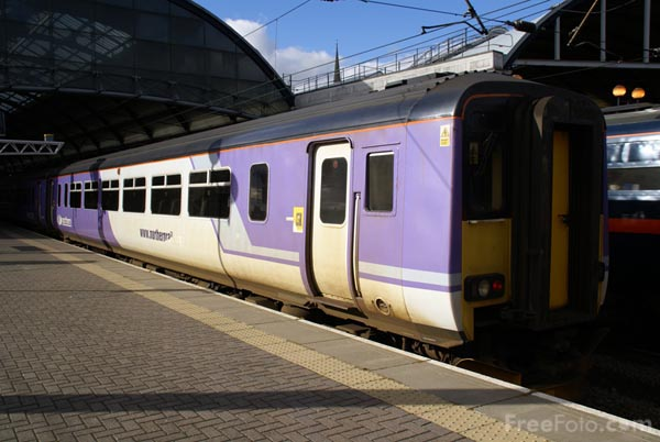 Picture of Northern Rail - Free Pictures - FreeFoto.com