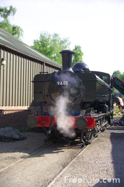 Picture of GWR class 5700 0-6-0PT 9681 - Free Pictures - FreeFoto.com