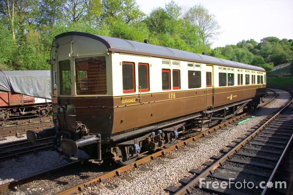 Picture of GWR Autocoach - Free Pictures - FreeFoto.com