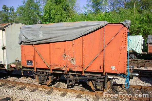 Picture of GWR Goods Wagon - Free Pictures - FreeFoto.com