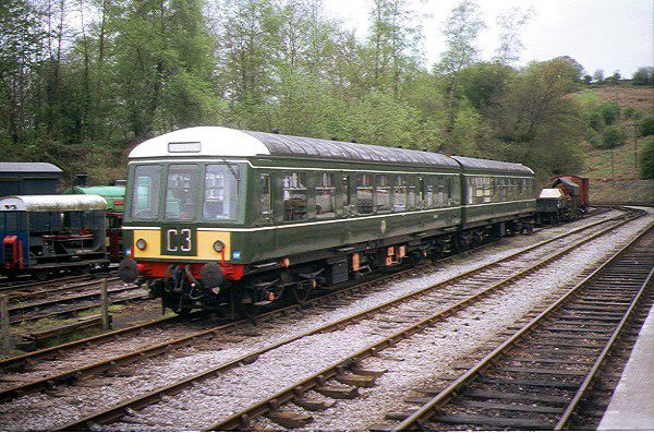 Picture of British Railways Class 108 DMU at Norchard - Free Pictures - FreeFoto.com