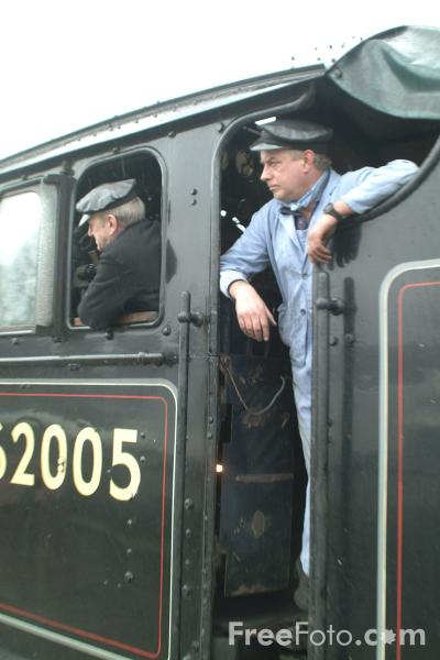 Picture of 62005 LNER Class K1 2-6-0 on a goods train at Ramsbottom - Free Pictures - FreeFoto.com