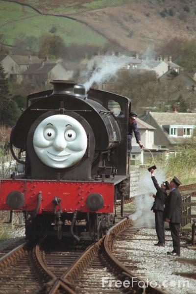 Picture of Thomas the tank engine weekend at Embsay - Free Pictures - FreeFoto.com