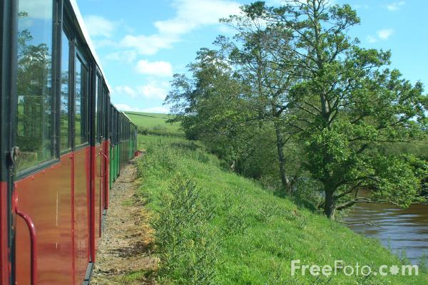 Picture of Heatherslaw Light Railway beside the River Till, Northumberland - Free Pictures - FreeFoto.com