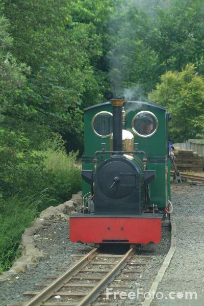 Picture of The Lady Augusta enters Heatherslaw Mill terminus. - Free Pictures - FreeFoto.com