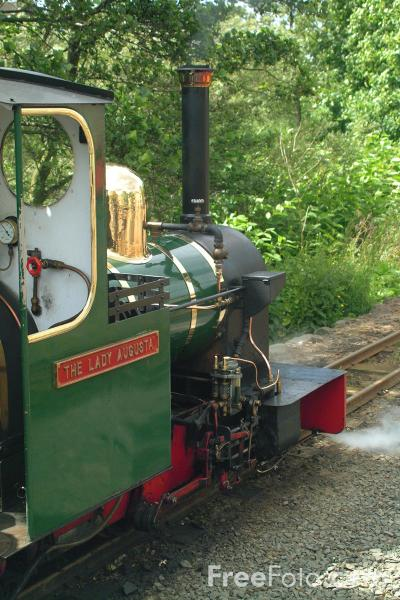Picture of Heatherslaw Light Railway, Ford, Northumberland - Free Pictures - FreeFoto.com
