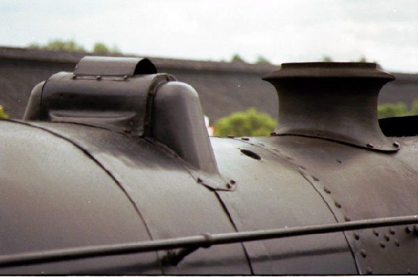 Picture of Close up of LMS Black 5 4787 - Free Pictures - FreeFoto.com