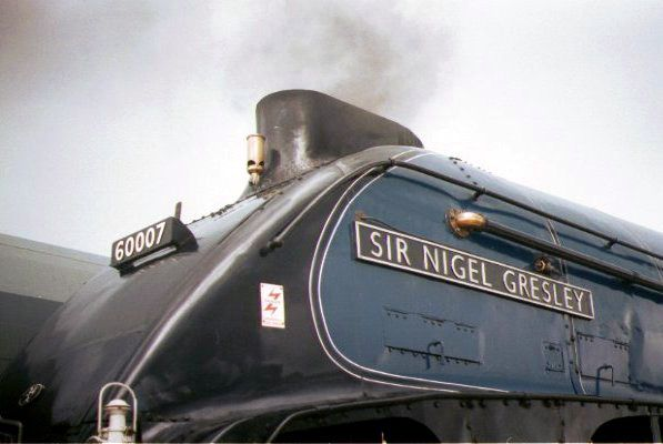 Picture of 60007 A4 Sir Nigel Gresley at the Doncaster Railfest - Free Pictures - FreeFoto.com