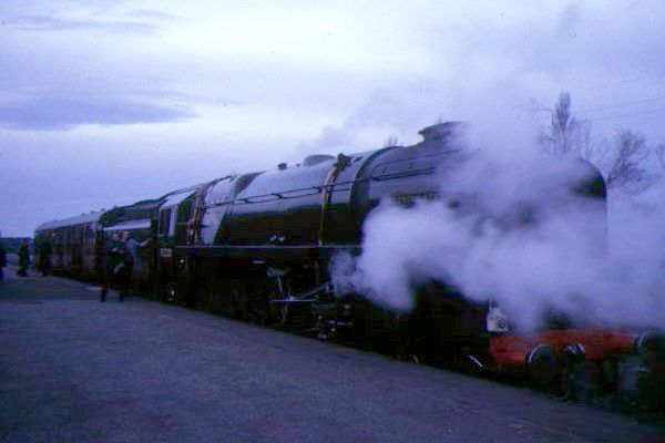 Picture of British Railways 92220 2-10-0 9F Evening Star - Free Pictures - FreeFoto.com