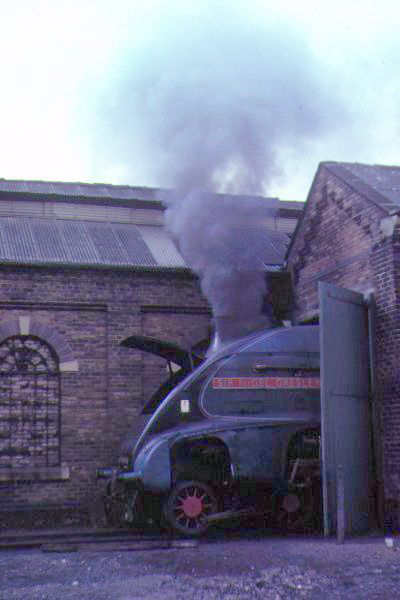 Picture of A4 Sir Nigel Gresley at NCB Shed - Free Pictures - FreeFoto.com