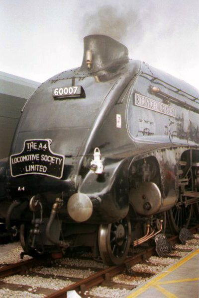 Picture of 60007 A4 Sir Nigel Gresley at Doncaster Railfest - Free Pictures - FreeFoto.com