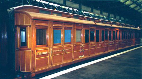 Picture of LNER Third class open carriage - Free Pictures - FreeFoto.com