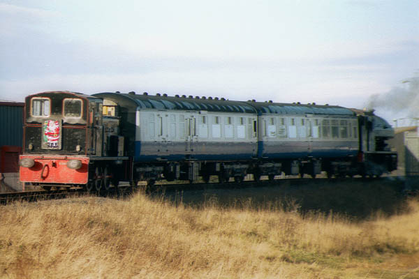Picture of Class 03 shunter D2078, ex 03078 of Gateshead depot. - Free Pictures - FreeFoto.com
