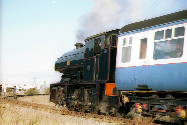 Picture of 1953 built 0-6-0 Bagnall saddle tank 401 - Free Pictures - FreeFoto.com