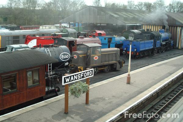 Picture of Nene Valley Railway - Free Pictures - FreeFoto.com