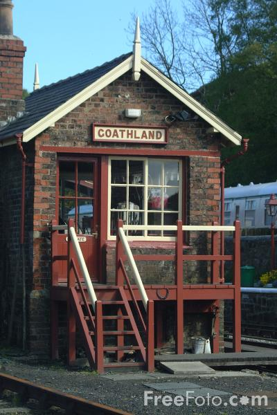 Picture of Goathland Station - Free Pictures - FreeFoto.com