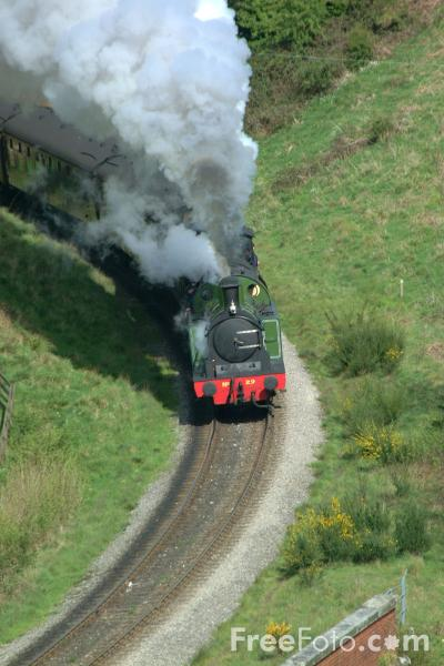 Picture of Lambton Tank No29 and 65894 NER Class J27 0-6-0 near Goathland - Free Pictures - FreeFoto.com