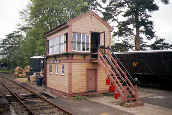 Picture of Arley Signalbox - Home of BBC's Oh Doctor Beeching - Free Pictures - FreeFoto.com