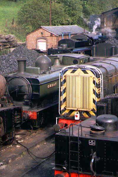 Picture of Bridgnorth Steam Shed - Free Pictures - FreeFoto.com