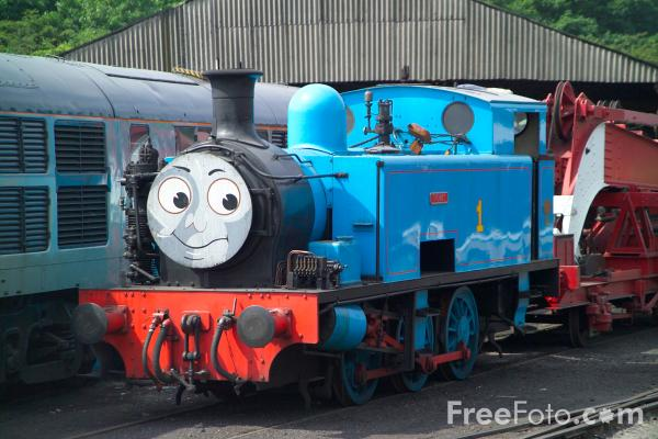 Picture of The Nene Valley Railways Thomas the Tank Engine - Free Pictures - FreeFoto.com