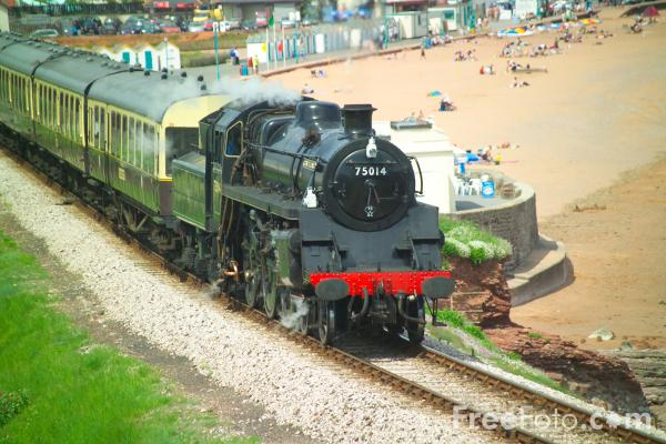 Picture of Paignton and Dartmouth Steam Railway - Free Pictures - FreeFoto.com