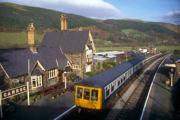 Picture of Carrog Station - Free Pictures - FreeFoto.com