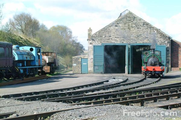 Picture of Marley Hill Shed. - Free Pictures - FreeFoto.com