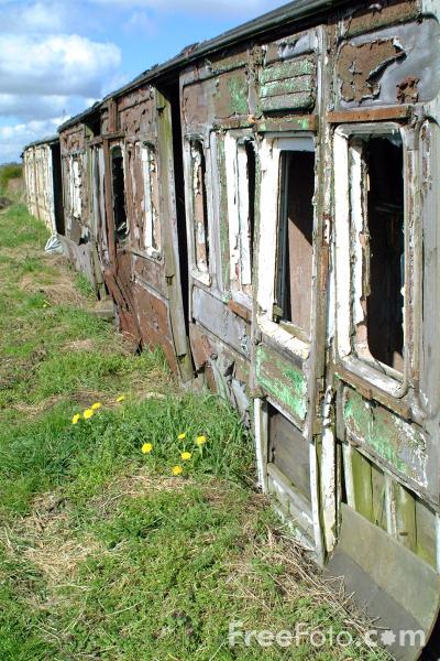 Picture of Derelict Carriage - Free Pictures - FreeFoto.com