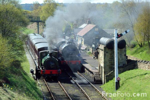 Picture of St Andrews House Station, Tanfield Railway - Free Pictures - FreeFoto.com