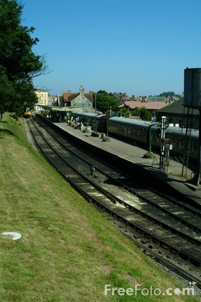 Picture of Swanage Railway Station - Free Pictures - FreeFoto.com