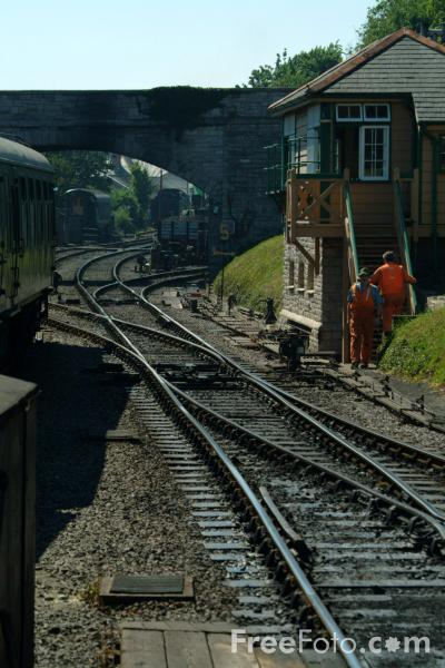 Picture of Swanage Railway - The Purbeck line - Free Pictures - FreeFoto.com