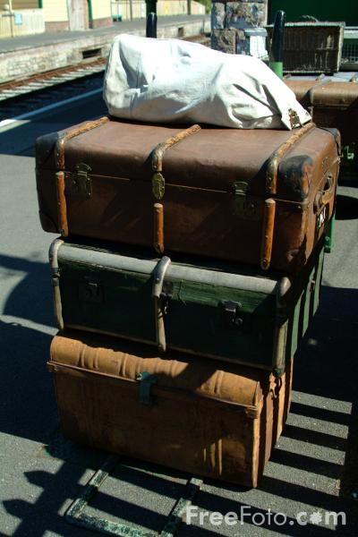 Picture of Luggage - Free Pictures - FreeFoto.com