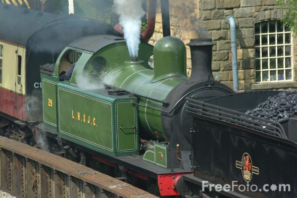 Picture of Lambton Tank No29 at Goathland - Free Pictures - FreeFoto.com