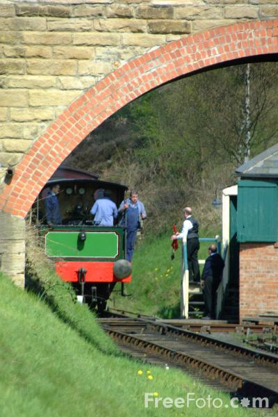 Picture of Victorian Theme Day, Tanfield Railway - Free Pictures - FreeFoto.com