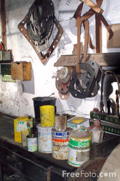 Picture of Inside Marley Hill Shed - Free Pictures - FreeFoto.com