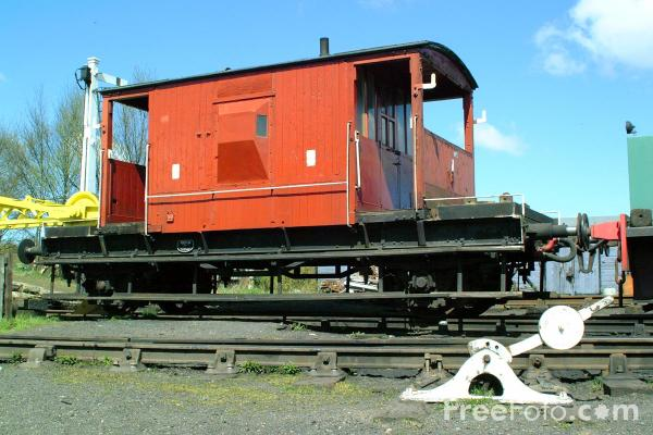 Picture of Guards Van, Marley Hill - Free Pictures - FreeFoto.com