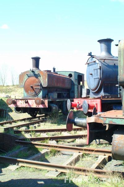 Picture of Old Engines, Marley Hill - Free Pictures - FreeFoto.com