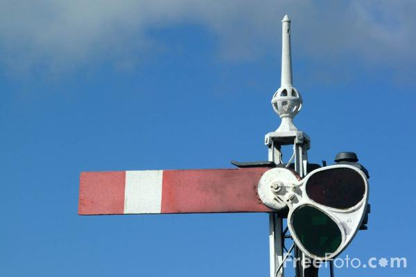 Picture of Semaphore Signal, Bo'ness - Free Pictures - FreeFoto.com