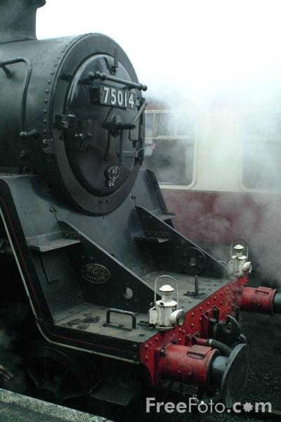 Picture of BR Standard 4MT No.75014, Great Central Railway, Loughborough - Free Pictures - FreeFoto.com