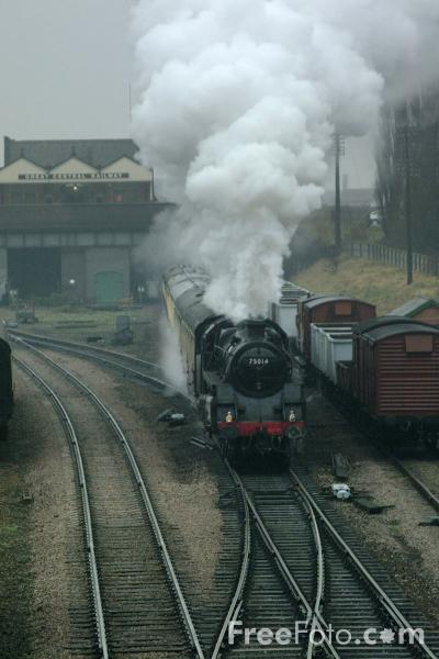 Picture of GWR Class 4200 No 4247 2-8-0T, Great Central Railway, Loughborough - Free Pictures - FreeFoto.com