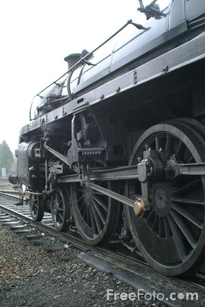 Picture of BR Standard 4MT No.75014, Great Central Railway, Rothley - Free Pictures - FreeFoto.com