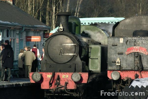 Picture of Grosmont Station - Free Pictures - FreeFoto.com