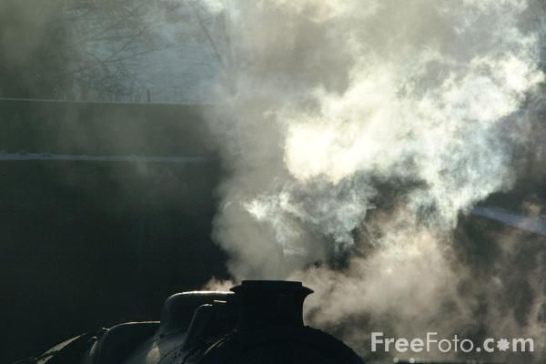 Picture of Drifting Steam - Free Pictures - FreeFoto.com