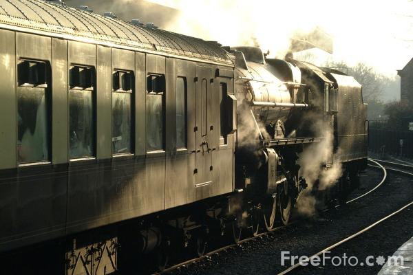 Picture of LMS 5MT 4-6-0 44767 George Stephenson at Pickering - Free Pictures - FreeFoto.com