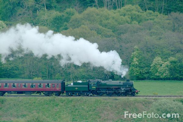 Picture of 75029 BR Class 4MT 2-6-0 near Grosmont - Free Pictures - FreeFoto.com