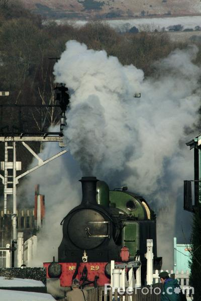 Picture of Lambton Tank No29, Grosmont Station - Free Pictures - FreeFoto.com