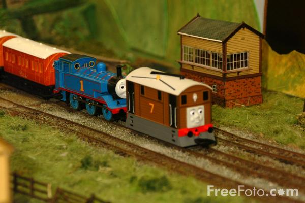 Picture of Blyth and District Model Railway Society Model Layout - Free Pictures - FreeFoto.com